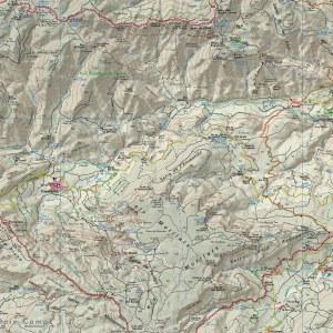 Mapa Piolet 3a Edició barrancs