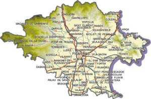 Mapa municipis