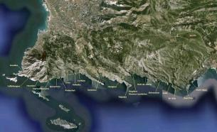 Calanques_Google_earth_carte